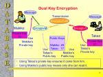 dual key encryption