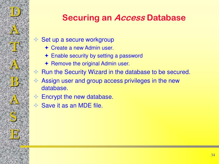 Set up a secure workgroup
