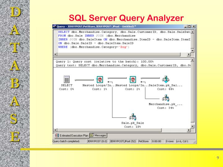 SQL Server Query Analyzer