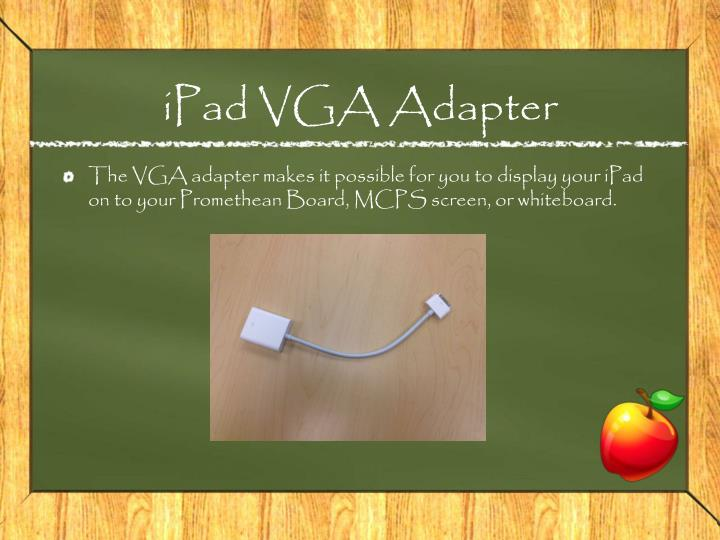 iPad VGA Adapter