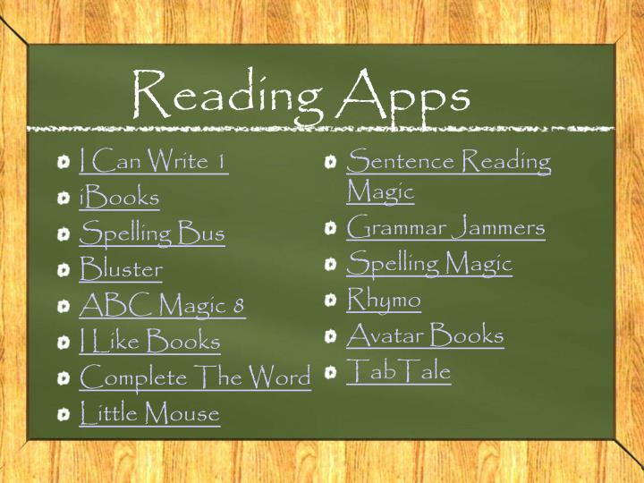 Reading Apps