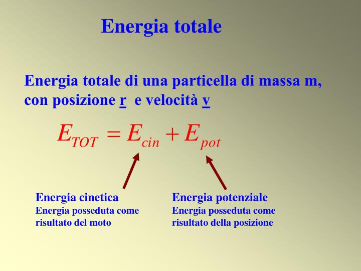Energia totale