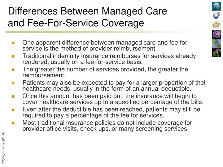 Differences Between Managed Care