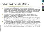 public and private mcos1