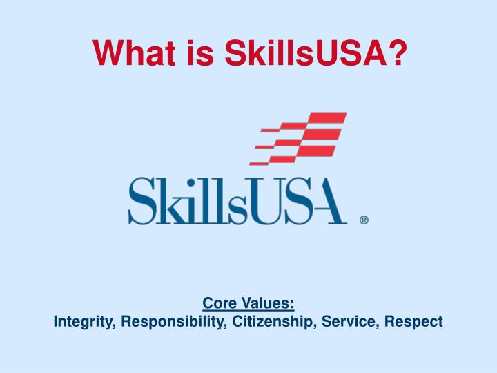 What is SkillsUSA?