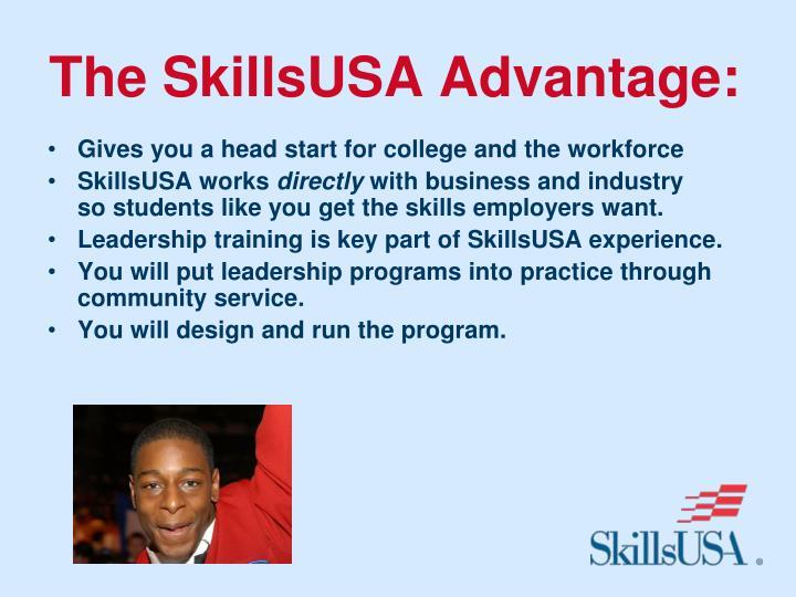 The SkillsUSA Advantage: