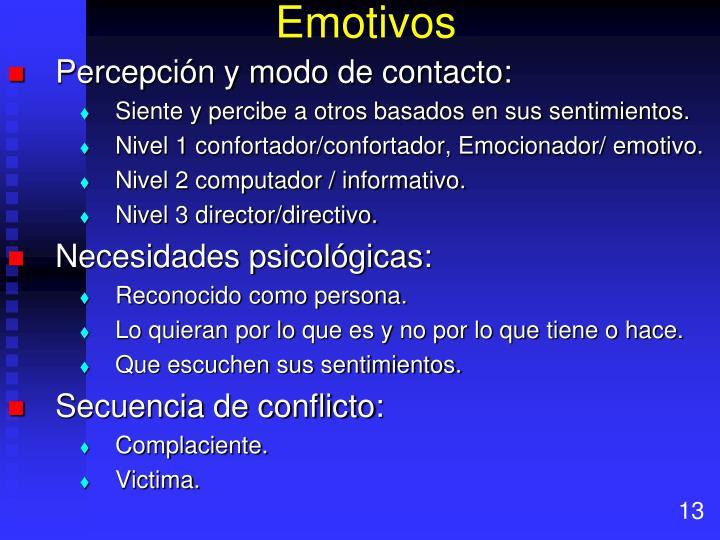 Emotivos
