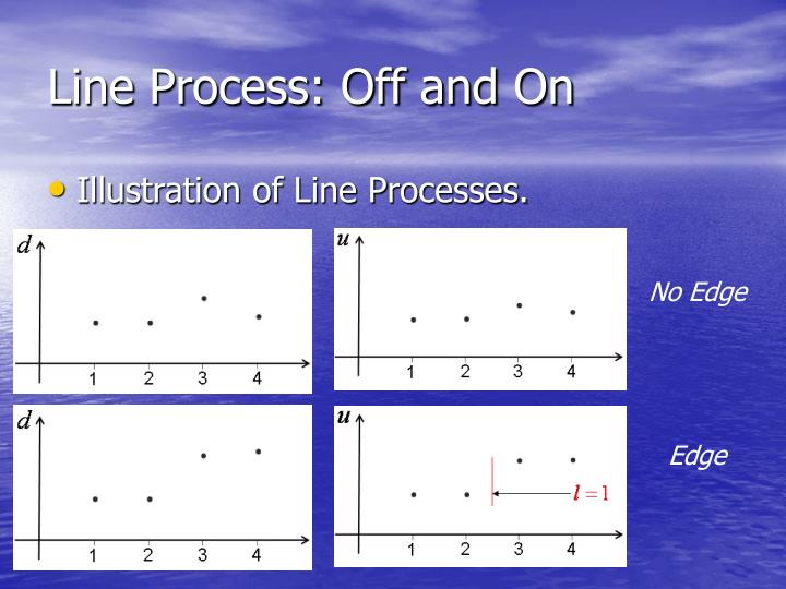 Line Process: Off and On