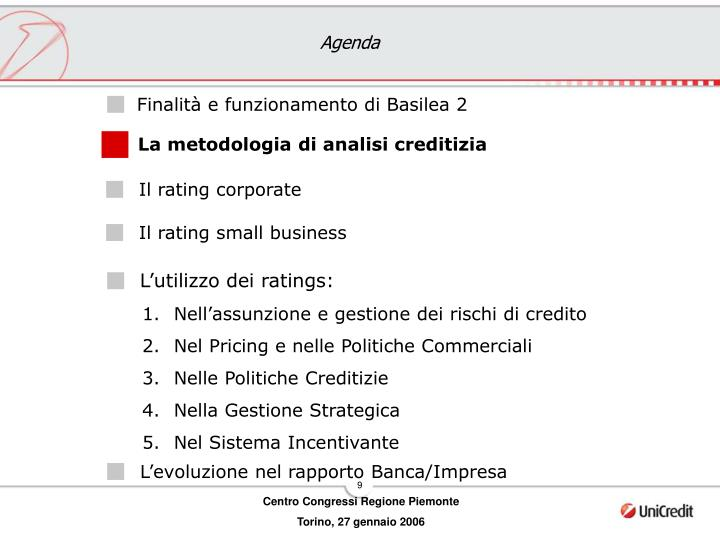 Il rating corporate