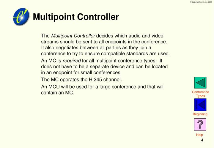Multipoint Controller