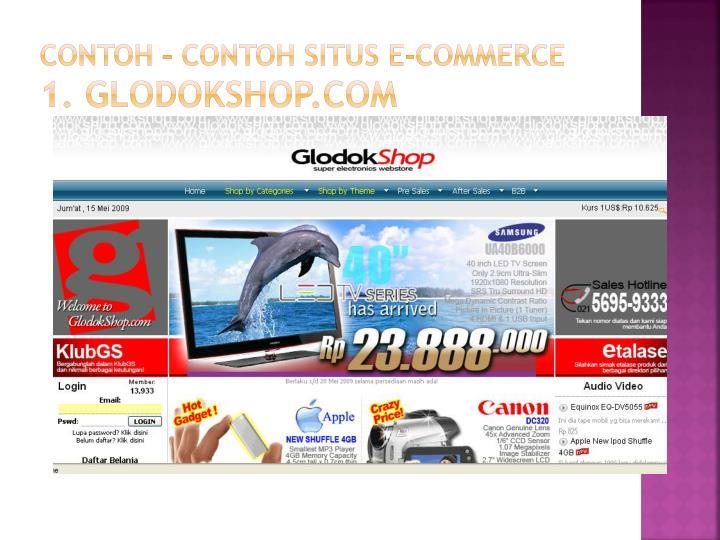 Contoh – contoh situs E-Commerce