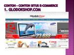 contoh contoh situs e commerce 1 glodokshop com