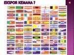 ekspor kemana