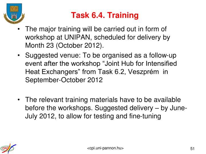 Task 6.4. Training