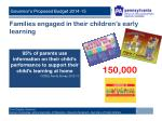 families engaged in their children s early learning