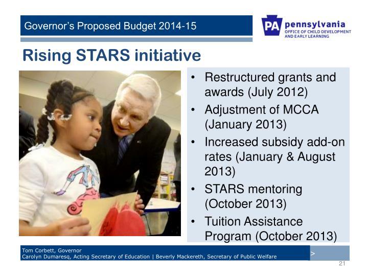 Rising STARS initiative