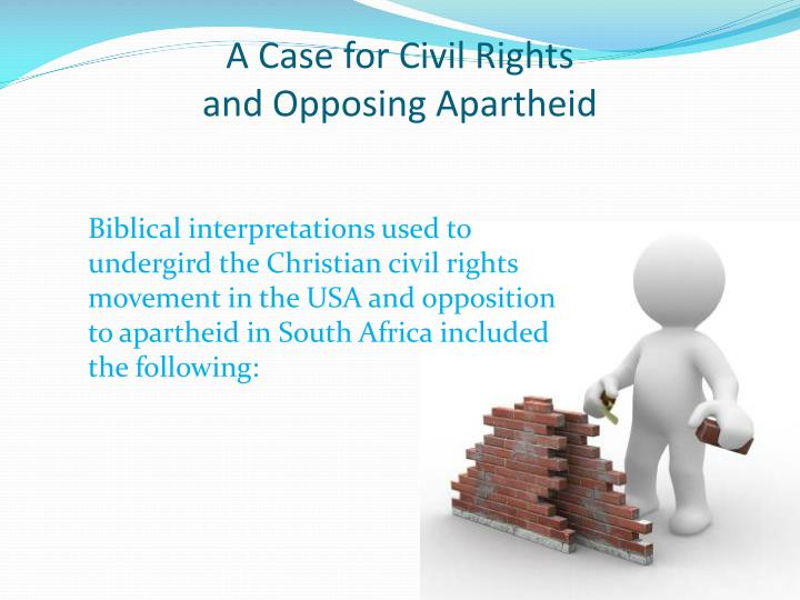 A Case for Civil Rights