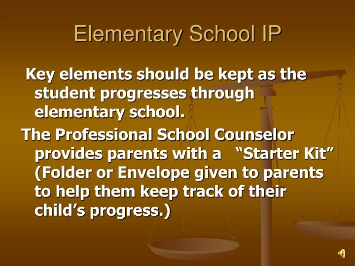 Elementary School IP