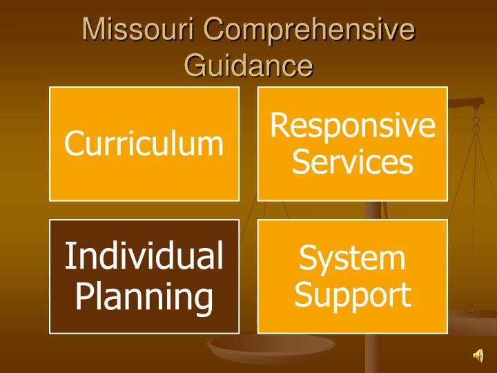 Missouri comprehensive guidance