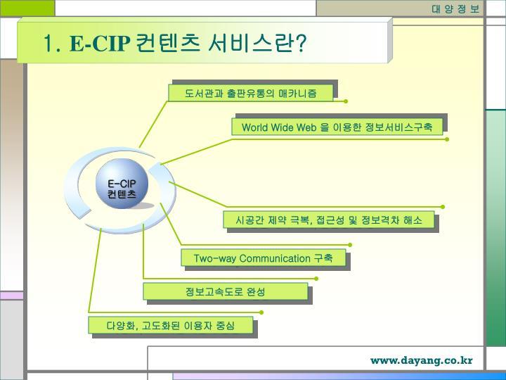 E-CIP
