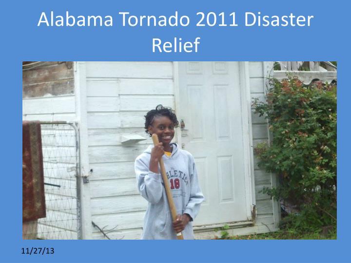 Alabama Tornado 2011 Disaster Relief