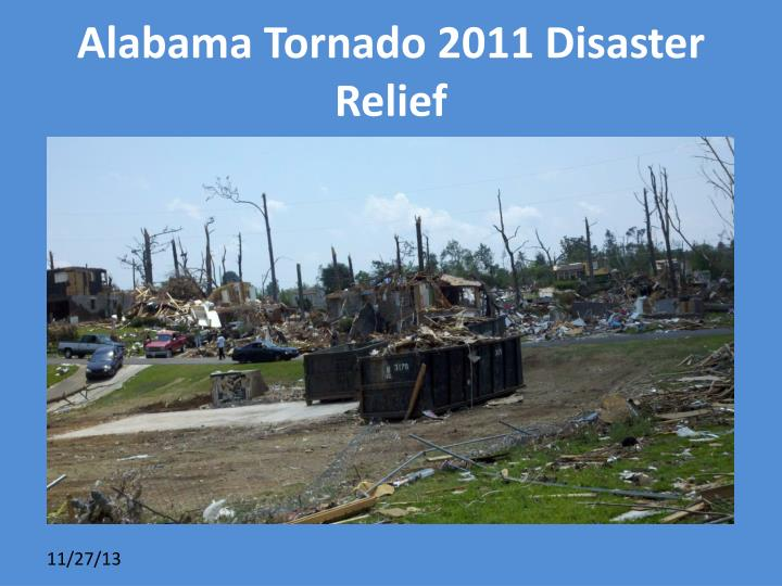 Alabama Tornado 2011 Disaster Relief