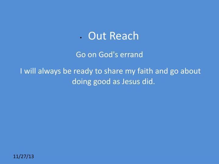 Out Reach