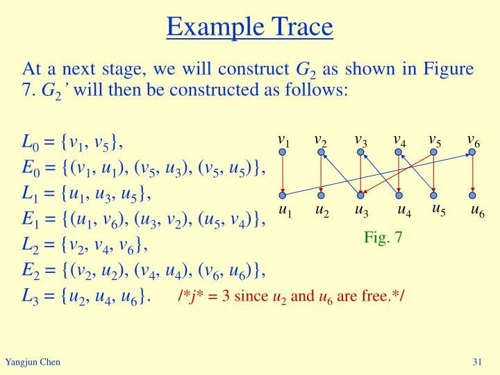 Example Trace
