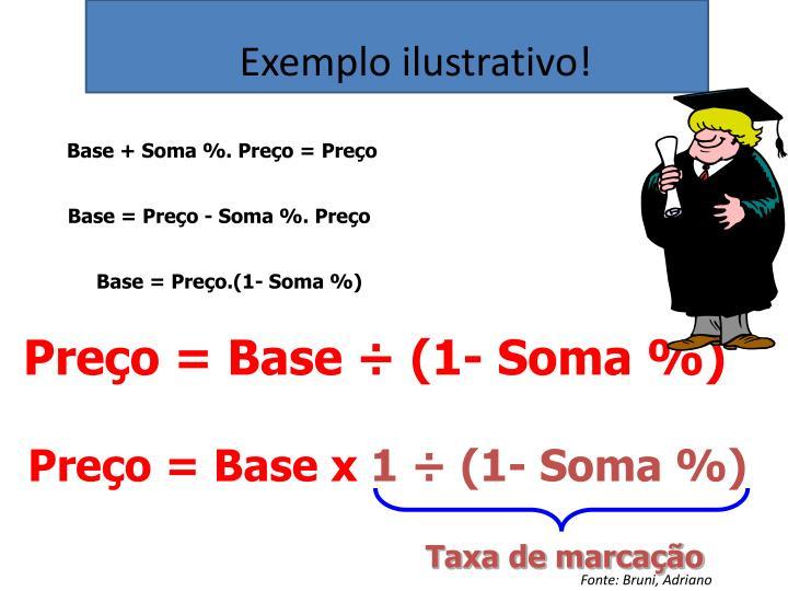 Exemplo ilustrativo!