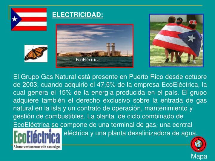 ELECTRICIDAD: