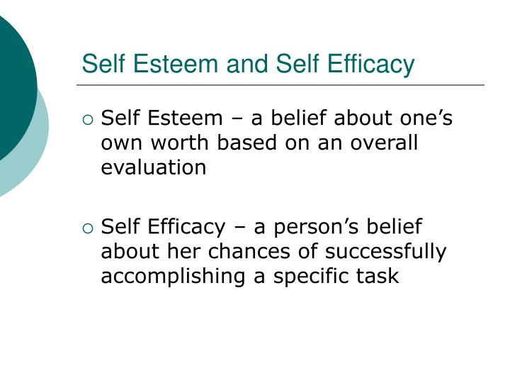 "differences between self efficacy and self confidence The concept of self-confidence is commonly used as self-assurance in one's  personal judgment  this is different from self-efficacy, which psychologist albert  bandura has defined as a ""belief in one's ability to succeed in  (2005) make  the distinction between robust confidence which leads to tough thinking, and  resilient."