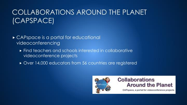 CAPspace is a portal for educational videoconferencing
