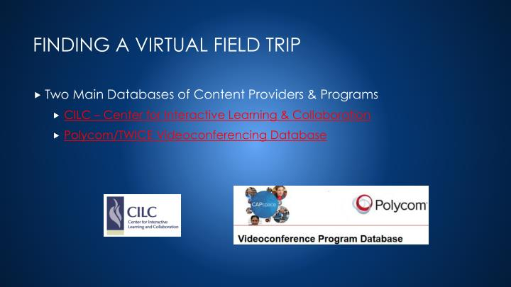 Two Main Databases of Content Providers & Programs
