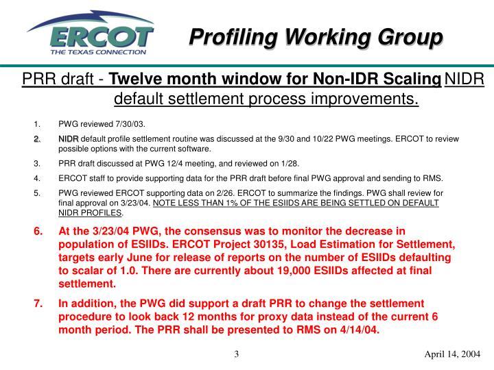 PRR draft -
