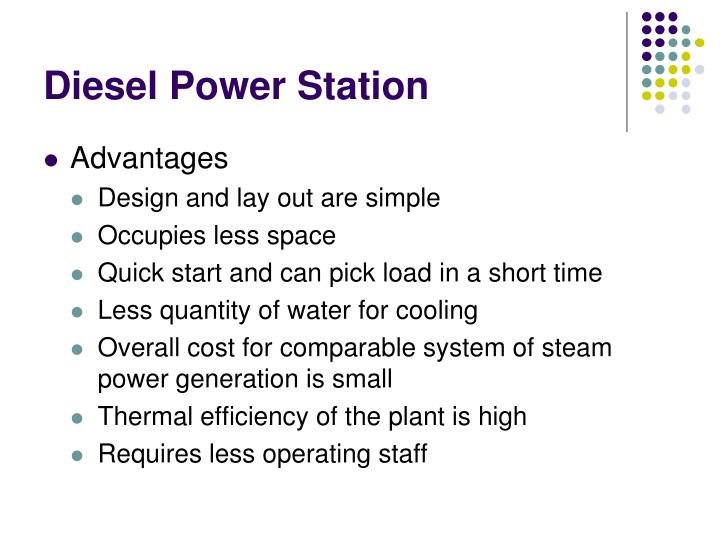 Diesel Power Station