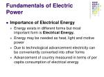fundamentals of electric power1