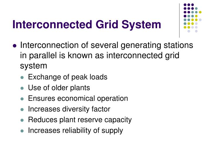 Interconnected Grid System