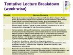 tentative lecture breakdown week wise1
