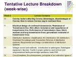 tentative lecture breakdown week wise2