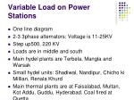 variable load on power stations1