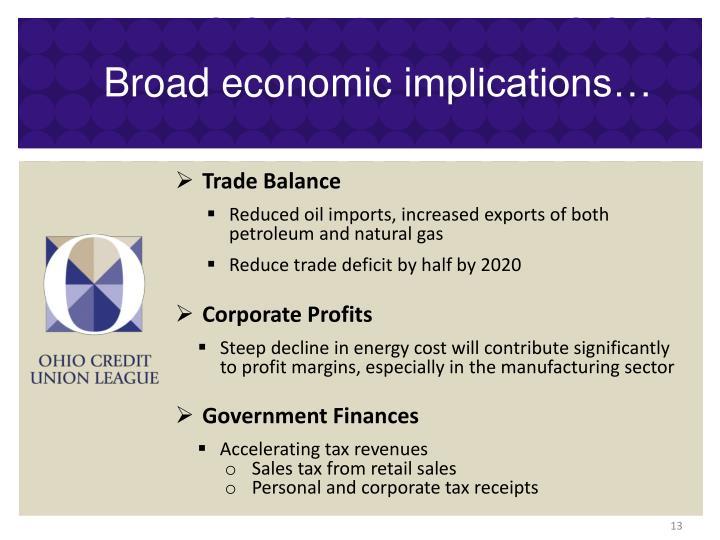 Broad economic