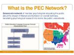 what is the pec network