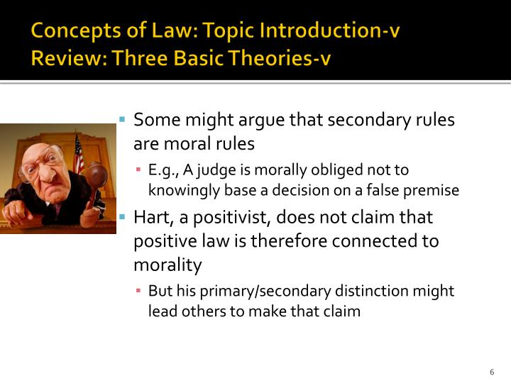Concepts of Law: Topic Introduction-v