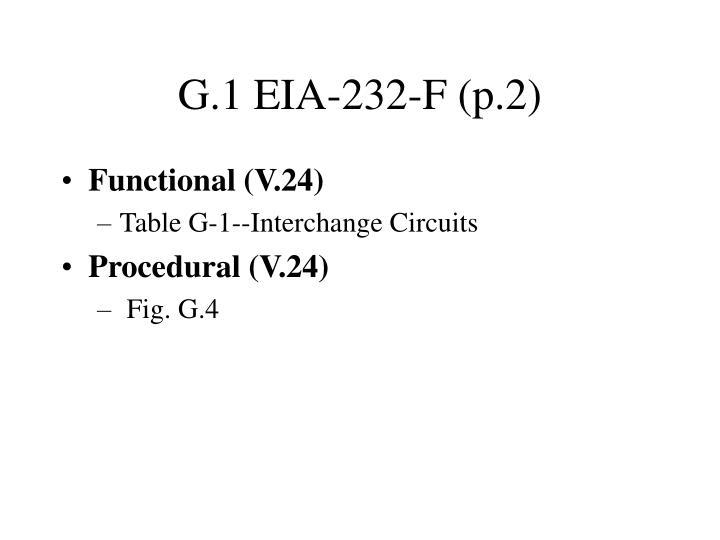 G.1 EIA-232-F (p.2)