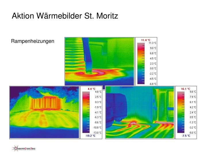 Aktion Wärmebilder St. Moritz