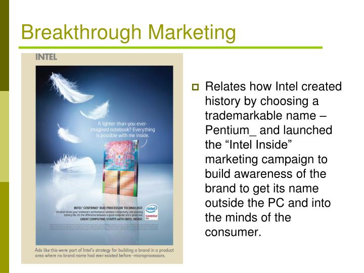 Breakthrough Marketing