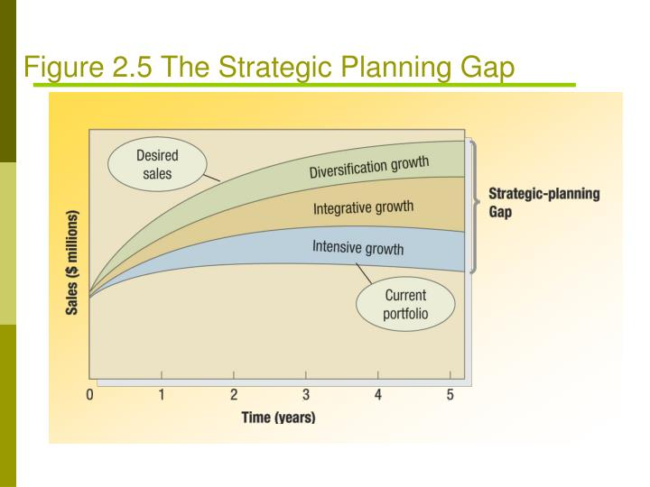 Figure 2.5 The Strategic Planning Gap
