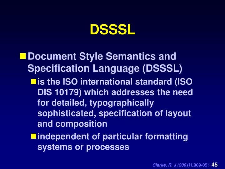 DSSSL