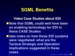 sgml benefits5