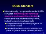 sgml standard1